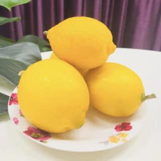 お客様から素敵な檸檬を頂きました